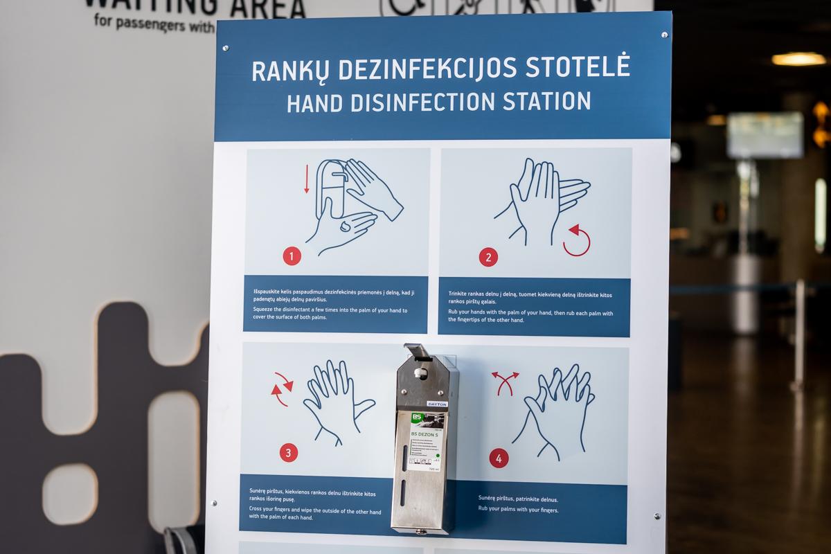 Rankų dezinfekavimo priemonės